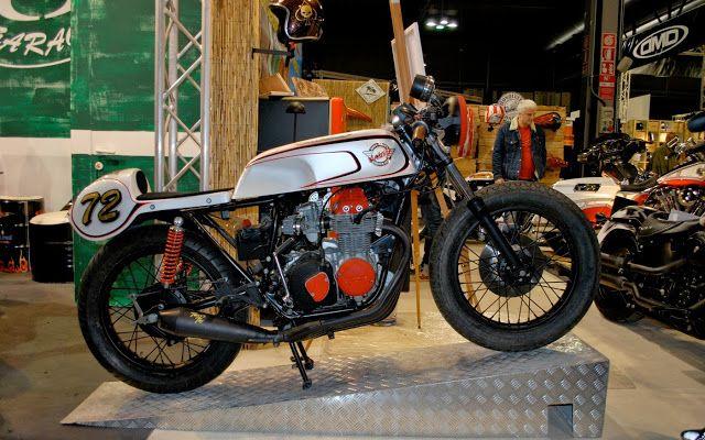 Honda CB400 SS Cafe Racer Honda Cafe Racer based on a Honda CB400 Supersport by Koro Design from Italy.