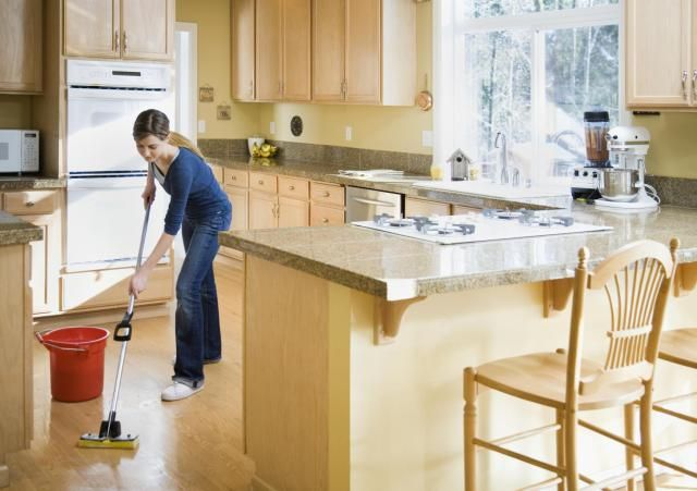 Find recipes for homemade mopping solutions that are simple and effective.