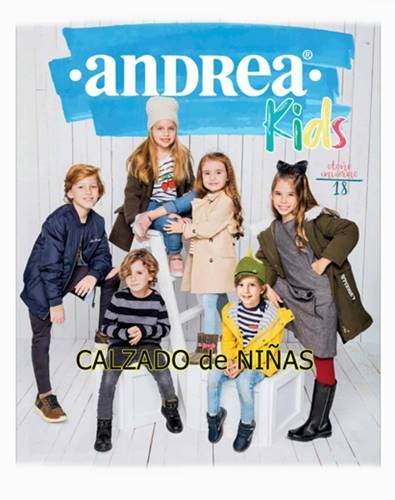 855bafd45 Catalogo Andrea Kids Niñas Otoño Invierno 2018