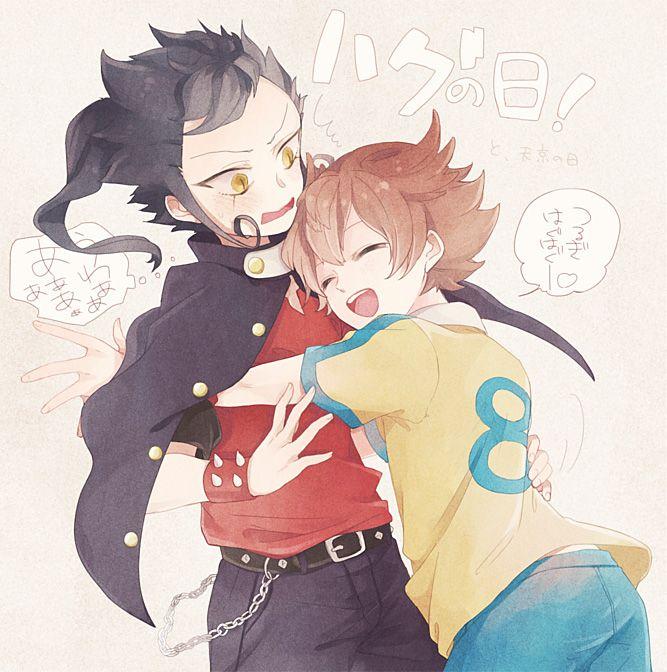 anime  Surprise Hug | zerochan / Inazuma Eleven / Inazuma Eleven GO /#1037280