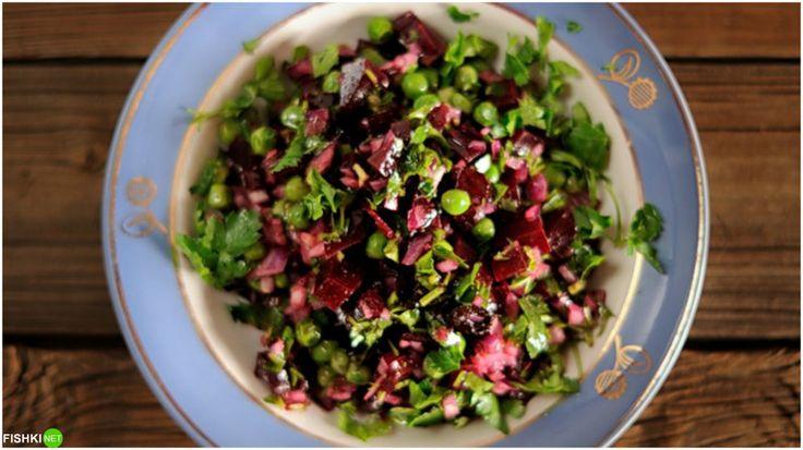 Простые рецепты салатов для борьбы с авитаминозом и хандрой!