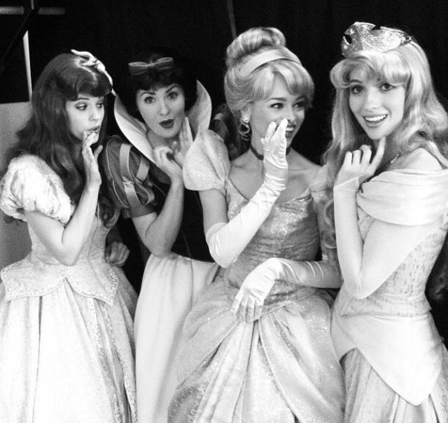 Princess Ariel, Princess Snow White, Princess Cinderella, Princess Aurora