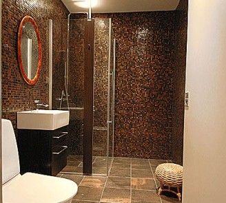 8 Extraordinary Brown Tile Bathroom Ideas Foto Idea: brown small bathroom ideas