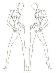 17 Best ideas about Fashion Illustration Template on Pinterest ...