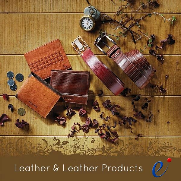 Let your style do the talking! Log on to ExportersIndia.Com and find best leather and leather products manufacturers, suppliers, exporters and wholesalers in India at http://www.exportersindia.com/industry/leather-products.htm #LeatherProducts #LeatherAccessories #LeatherGoods #ExportersIndia