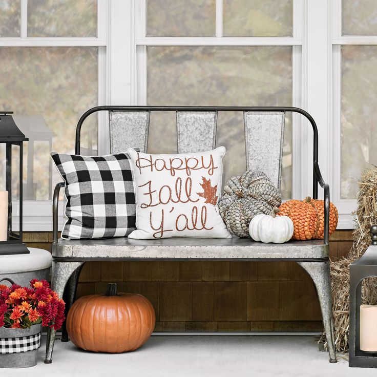 Sit pretty on your front porch with our Harvest Collection.