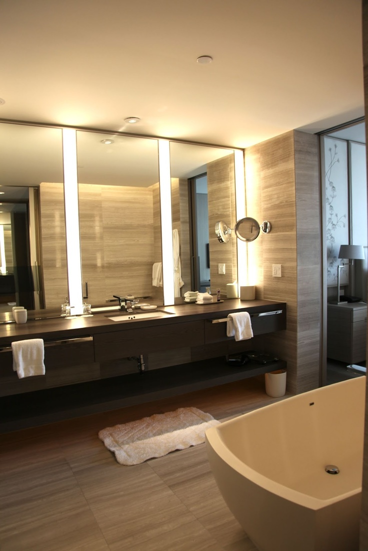 78 best commercial bathrooms images on pinterest modern for Commercial bathroom lighting