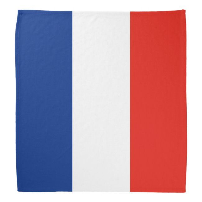 France Flag Bandana Zazzle Com In 2020 Flag Bandana French Flag France Flag