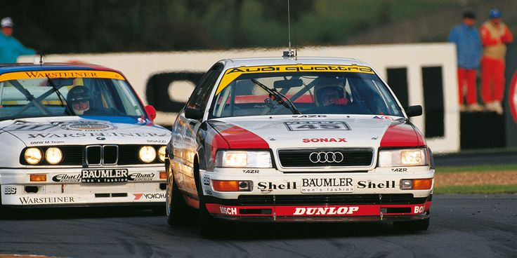 DTM History | 1991 season | DTM.com // 1991 saw Audi as the first manufacturer in history to successfully defend a DTM title.