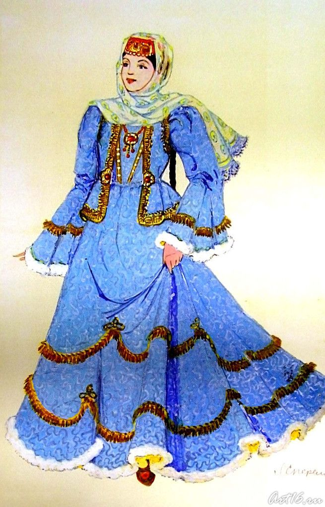 Костюм казанских татар
