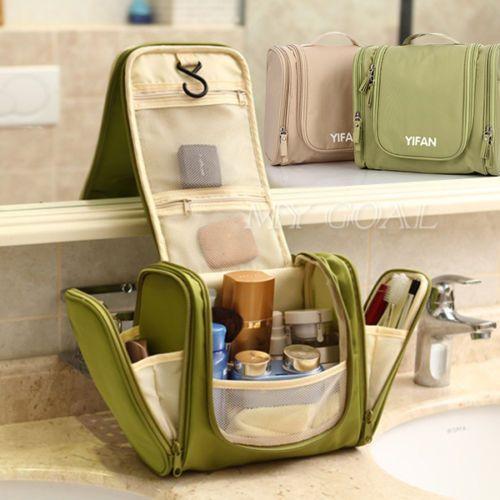 £6.99 New Travel Cosmetic Makeup Toiletry Pruse Wash Organizer Storage Hanging Bag | eBay