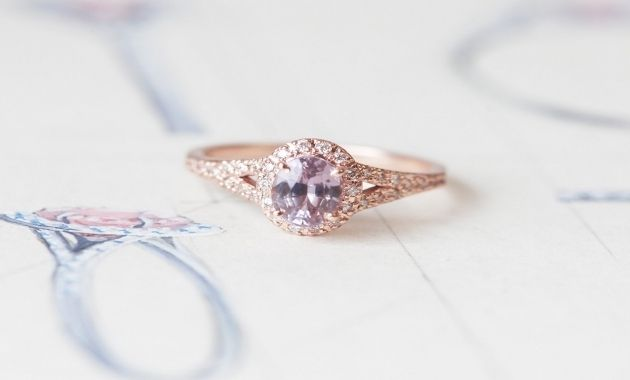 Peach Sapphire Engagement Rings South Africa
