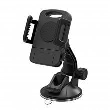 Car Phone Mount Holder Windshield / Dashboard Universal Car Mobile Phone cradle for iOS / Android Smartphone