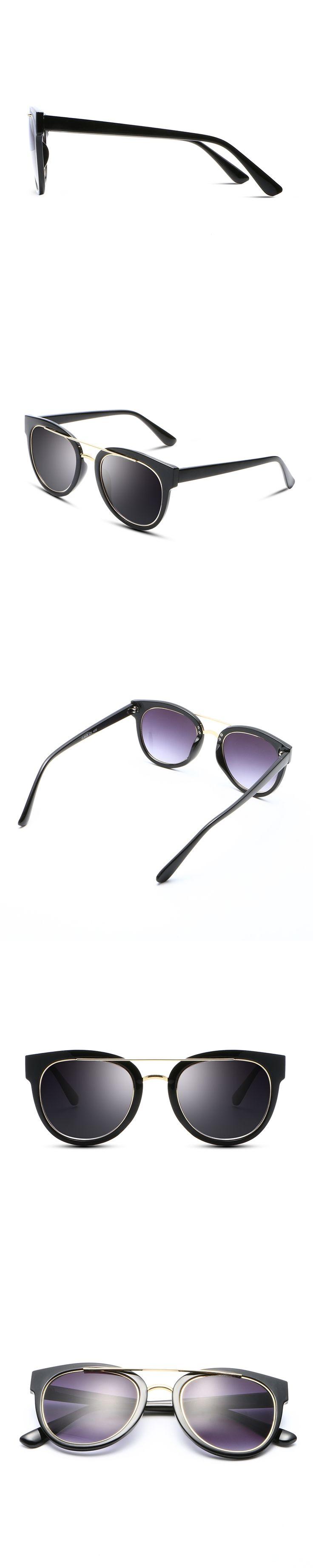 High Quality Design Brand Sunglasses Women 2017 Vintage zonnenbrillen Men Steampunk flat lens glasses lente de sol mujer