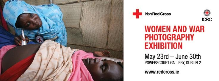 Women and War Photography Exhibition 2013 | Opening night | © Irish Red Cross