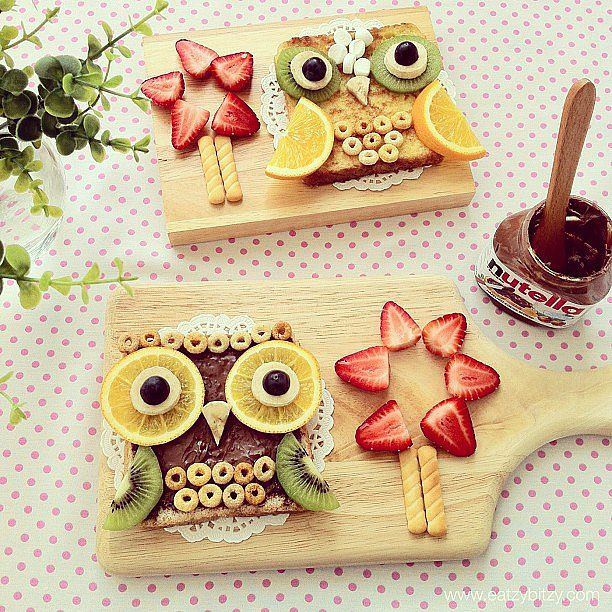 What a hoot!! An animal snack attack: 17 works of animal food art #snackattack #hoothoot