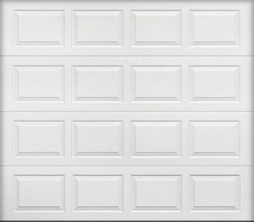 Wayne Dalton 9100 Insulated Garage Door 9 Ft W X 7 Ft H Steel White Garage Doors Garage Door Panels Doors