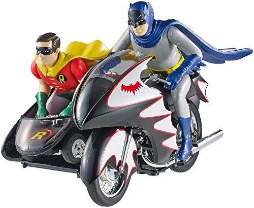 マテル 1/12 バットマン クラシック TVシリーズ バットサイクル バットマン & ロビン フィギュア付 マテル http://www.amazon.co.jp/dp/B00U8L4WLY/ref=cm_sw_r_pi_dp_q-Akwb1CTXRWR