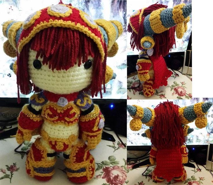 Alexstrasza - Crochet Pattern - World of Warcraft by GamerKirei on DeviantArt