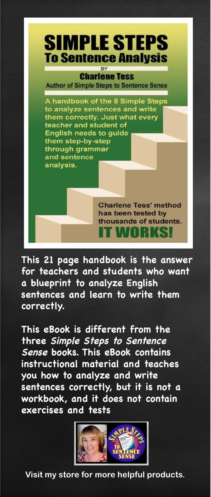 44 best simple steps to sentence sense images on pinterest frases simple steps to sentence analysis malvernweather Images