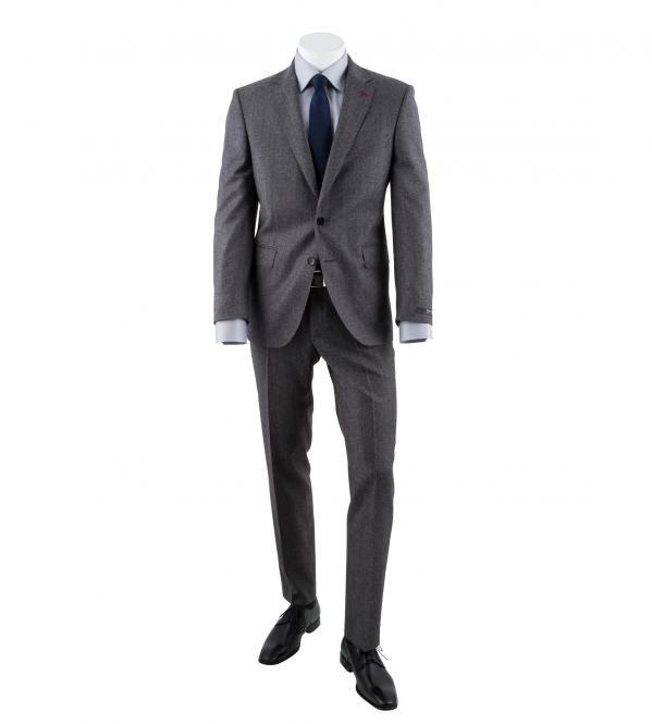 DIGEL Anzug Daren-Z in Grau, 100% Schurwolle S100