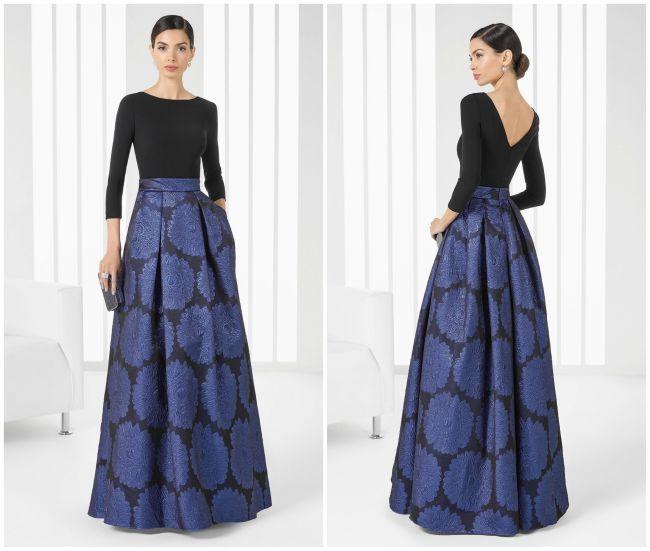 Perfect hostess skirt for at-home entertaining. | 60 vestidos de festa Rosa Clará 2016: femininos e sofisticados!