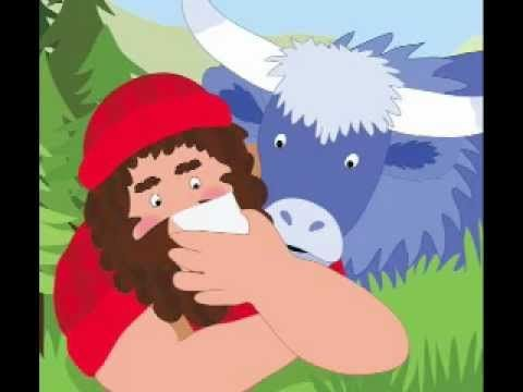 Paul Bunyan and Babe the Blue Ox - Early Reader by Robin Koontz