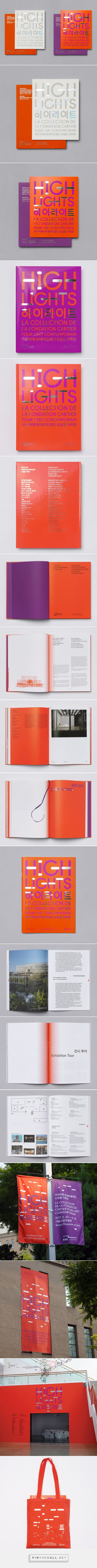 New Visual Identity for Highlights by Studio fnt