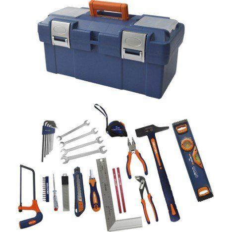 Boîte à outils de mécanicien 40 pièces DEXTER
