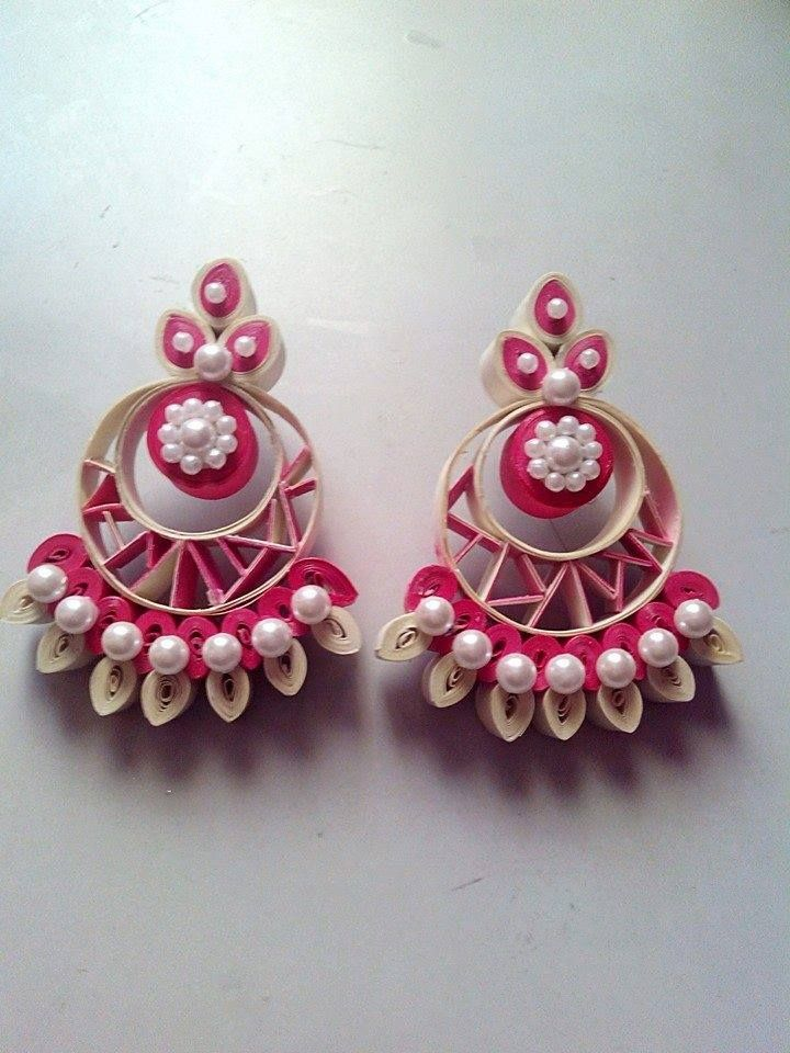 Quilling Earrings Designs Images : 1000+ images about quilling on Pinterest