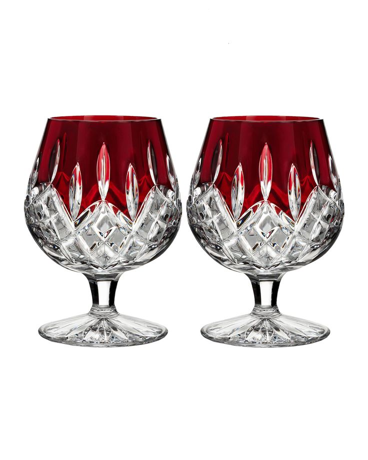 Waterford Lismore Brandy Glasses, Set of 2