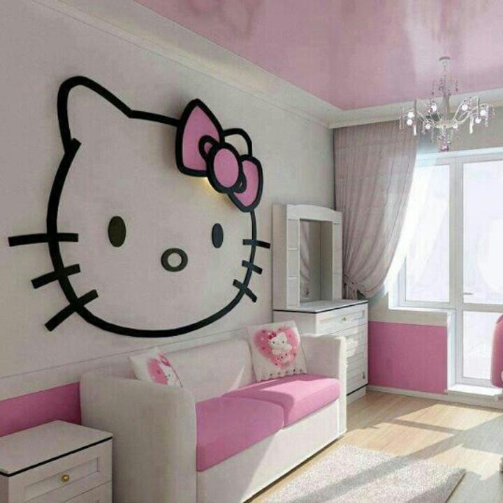 17 Best Images About Hello Kitty Bedroom On Pinterest Kitchen Art Hello Kitty Cartoon And