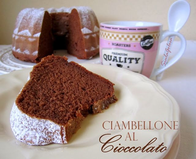 Ciambellone al cioccolato