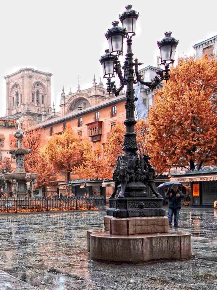 Granada Plaza Bib-Rambla.