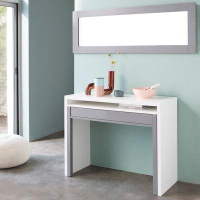 bureau console retractable les 3 suisses study guestroom pinterest bureaus milan and. Black Bedroom Furniture Sets. Home Design Ideas