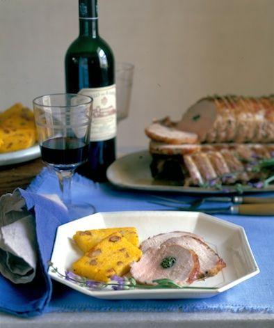 Herb-Scented Tuscan Pork Roast
