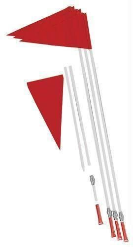 Safety Soccer Flags (Set of 4)