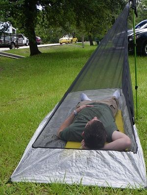 ZPacks.com Ultralight Backpacking Gear - HexaNet Solo Bug Shelter