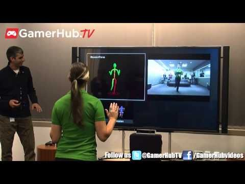 Youtube -Xbox One New Kinect Hands On Demo At Microsoft Headquarters -it can detect your heartrateooi
