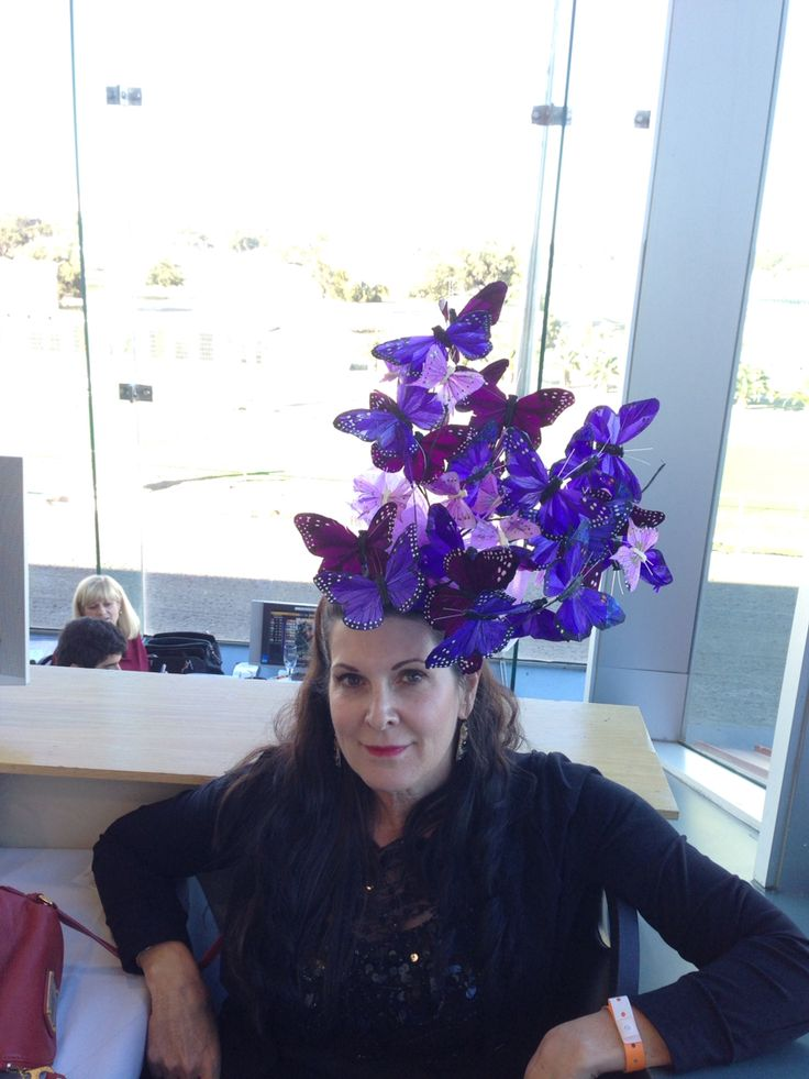 #ascot #nola #kentuckyderby  #fascinator Thanksgiving at Fairgrounds Racetrack in New Orleans 2014