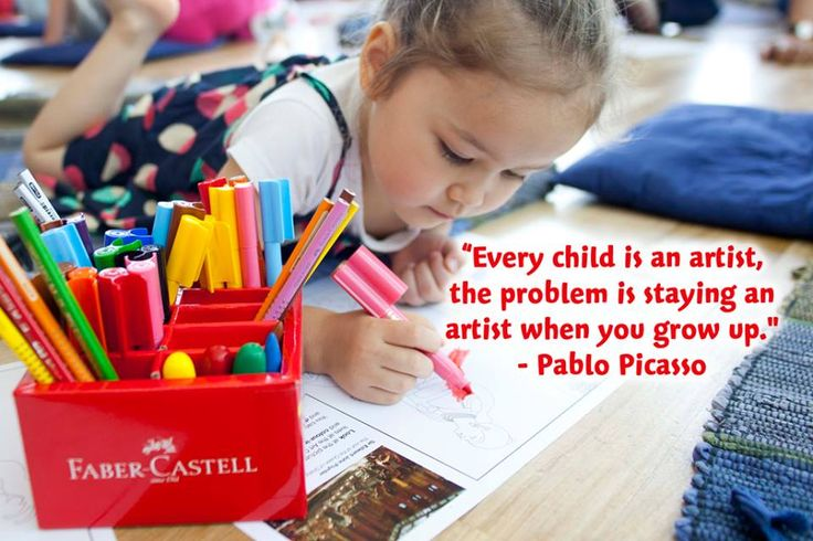 Every child is an artist, the problem is staying an artist when you grow up - Pablo Picasso