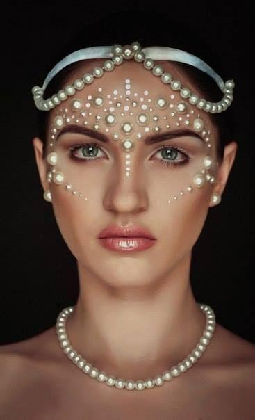 Сергей Vereschagin- decoden face pearls