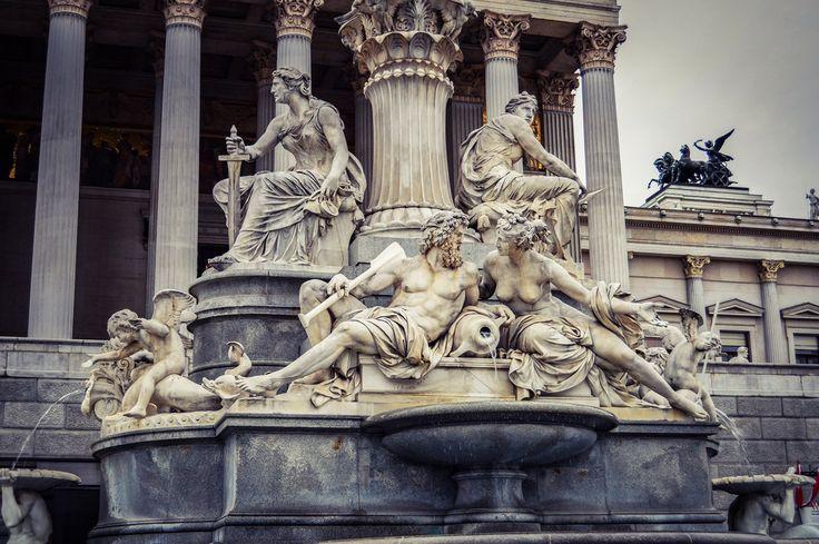 La Fuente de Palas Atenea (Vienna - Austria)