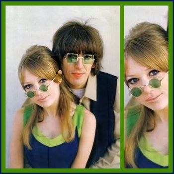 Pattie Boyd & George Harrison 1967