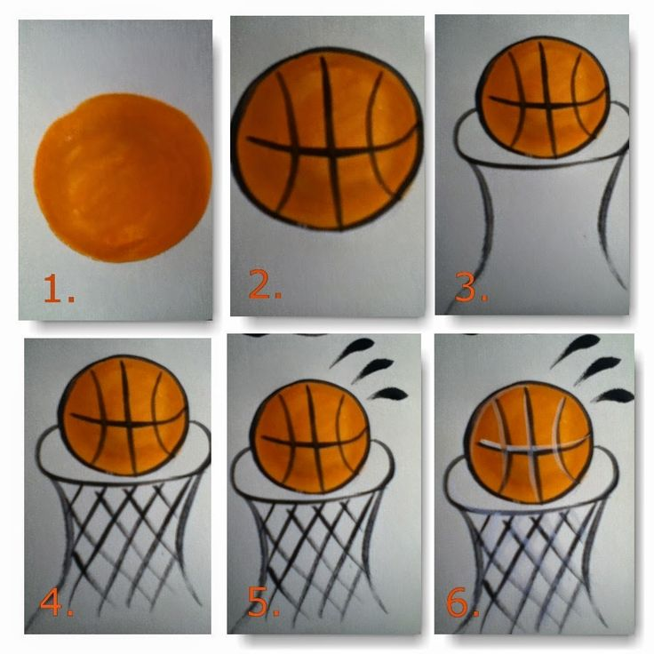 Fancy Faces of Rochester: How to paint a basketball hoop cheek art design