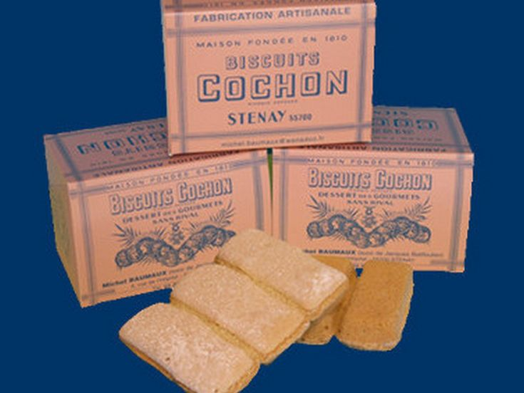 Les Biscuits Cochon de Stenay. Crédit photo : Claude TARDOT