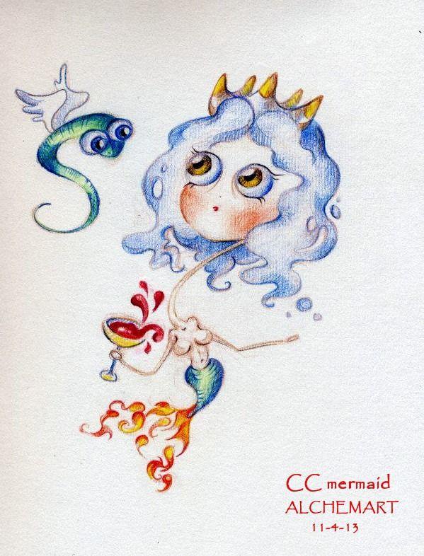 CC Alchemical Mermaid