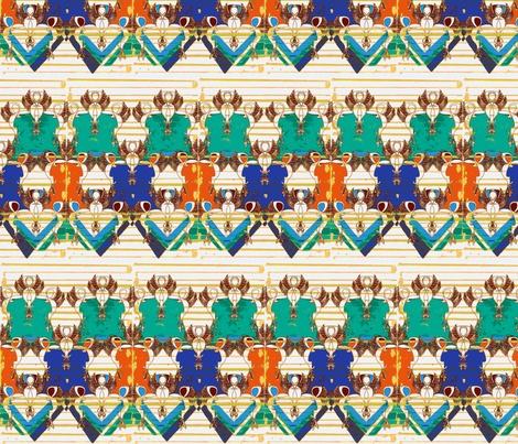 Safari remix fabric by babido on Spoonflower - custom fabric