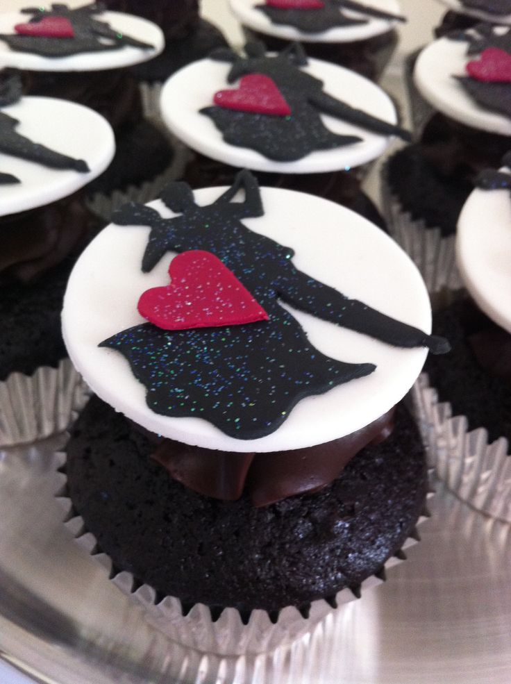 Ballroom Dancer Cupcakes • by Baking Gorgeous | www.bakinggorgeous.com