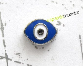 Evil Eye - floating charm, USA seller, 1 piece, Origami Owl, protection, amulet